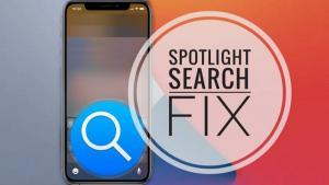 Spotlight Search not Working on Big Sur